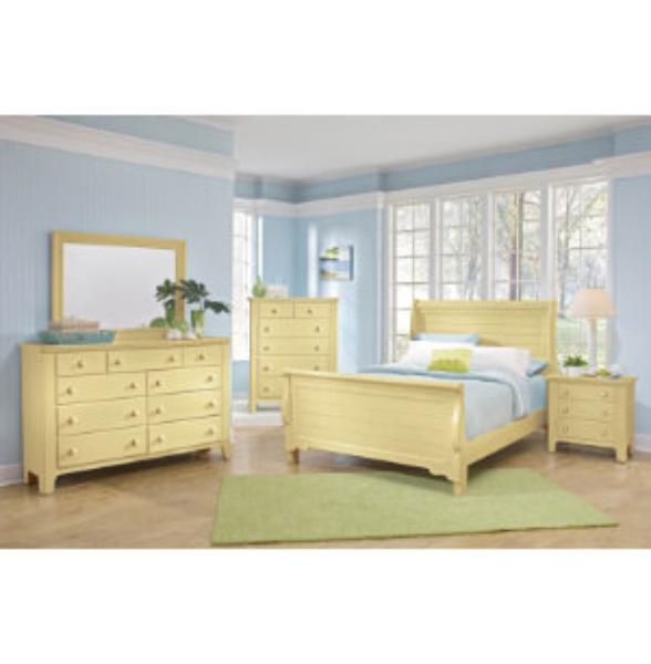 Vaughan Bassett Furniture, Yellow Bedroom Furniture