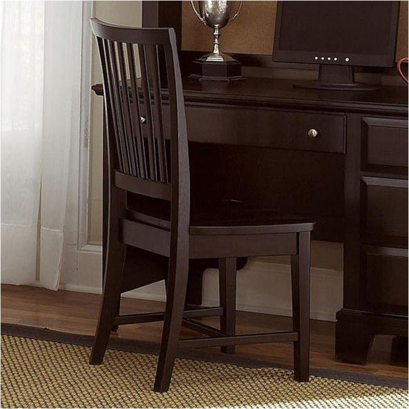 Bb4 007 Vaughan Bassett Furniture Wood Desk Chair Merlot