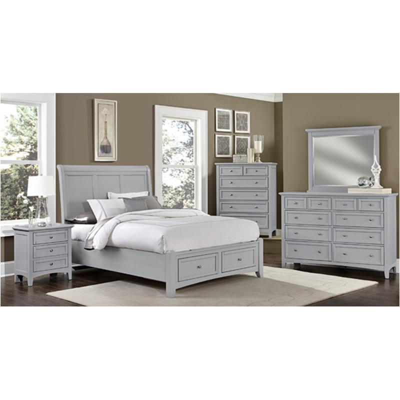 Bb26 663 St Vaughan Bassett Furniture, Grey Bedroom Furniture Set
