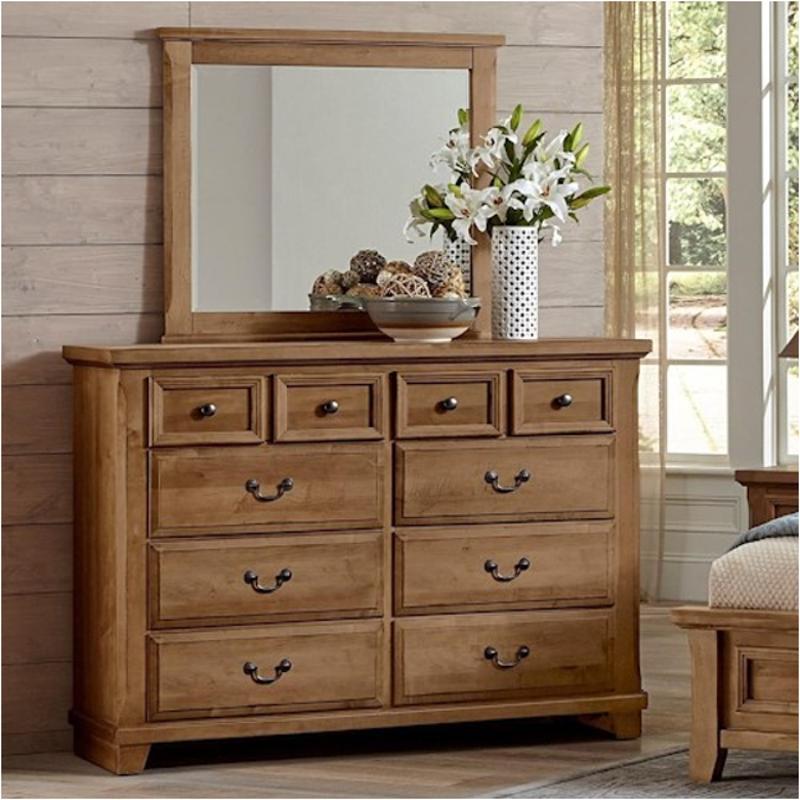 672 004 Vaughan Bassett Furniture 8 Drawer Bureau