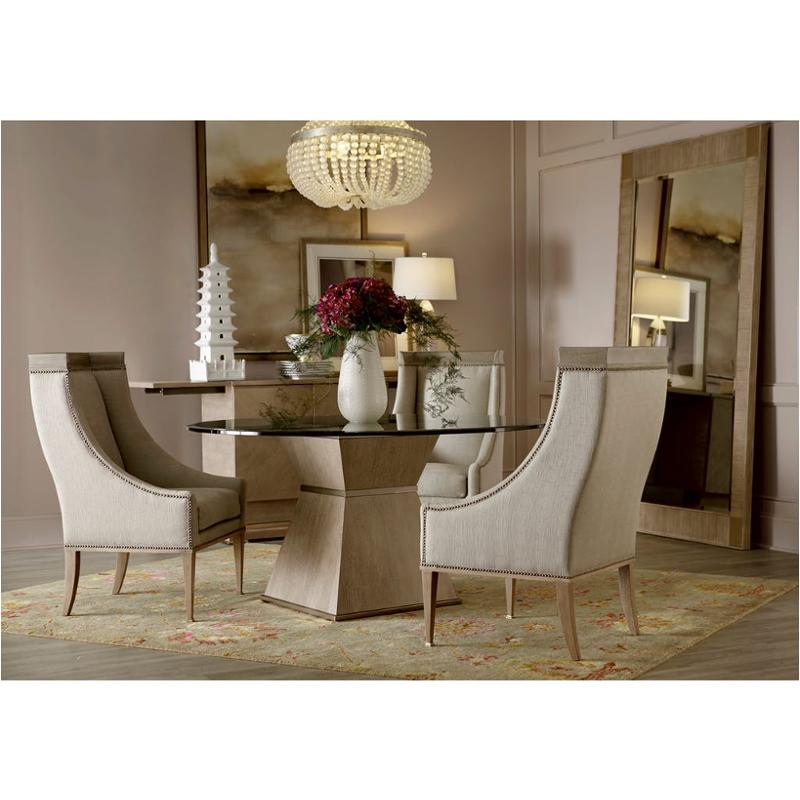 100225 110060 A A R T Furniture 60 Inch Round Dining Glass Table