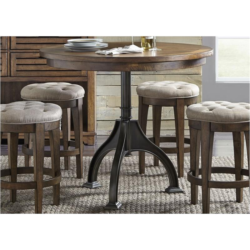 411 Gt4242t Liberty Furniture Round, Round Gathering Table