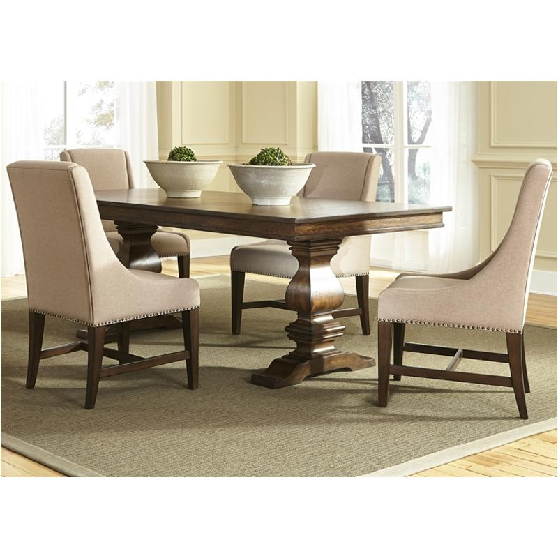 242t4206 liberty furniture armand dining trestle table