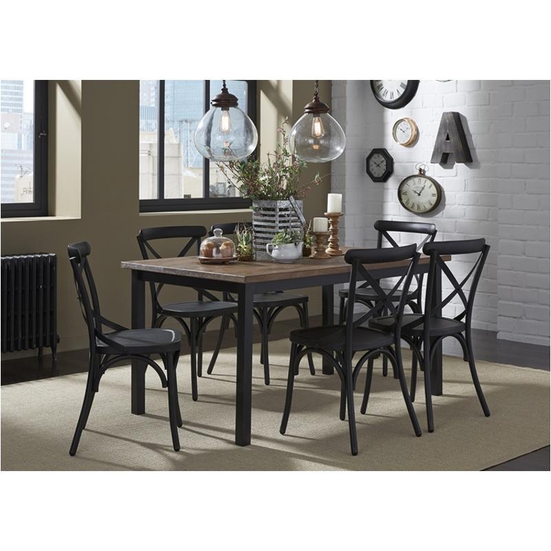 179 T3660 Liberty Furniture Rectangular Leg Table