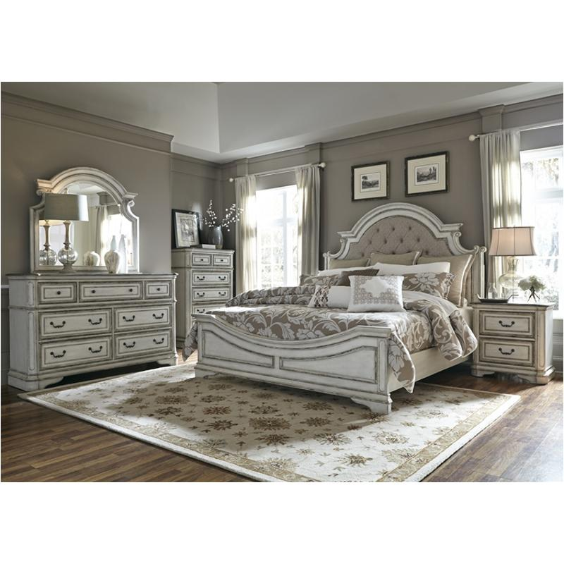 244 Br13hu Liberty Furniture Queen Upholstered Panel Bed