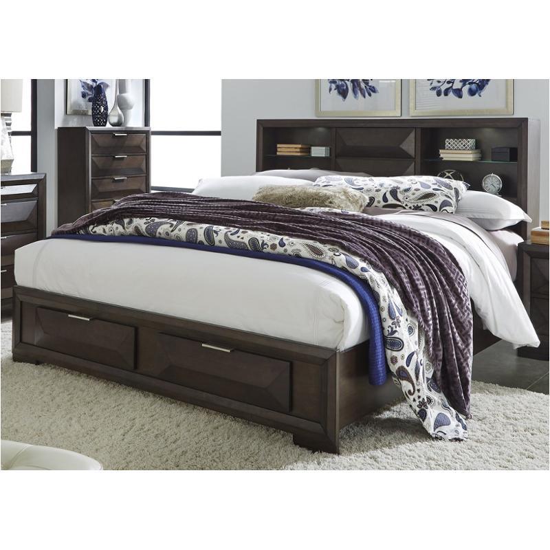Newland Queen Storage Headboard Bed
