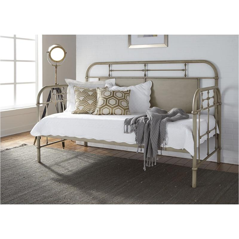179 Br11tb W Liberty Furniture Twin Metal Day Bed Vintage Cream