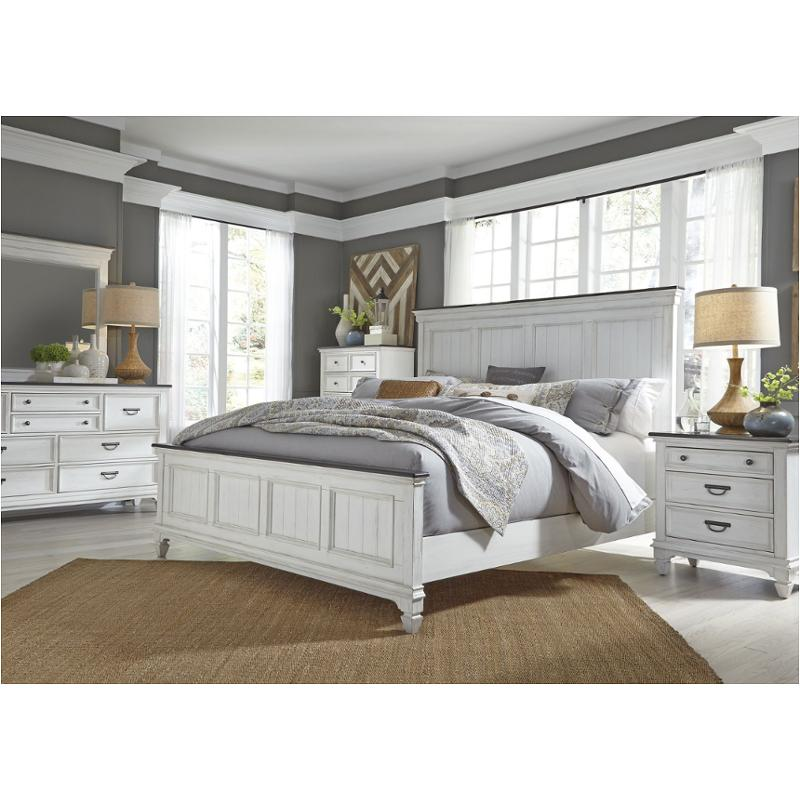 12-br12 Liberty Furniture Allyson Park King Panel Bed
