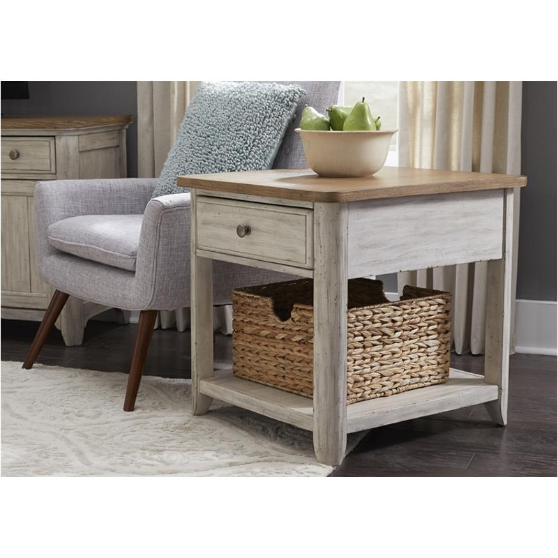 652 Ot1020 Liberty Furniture End Table With Basket