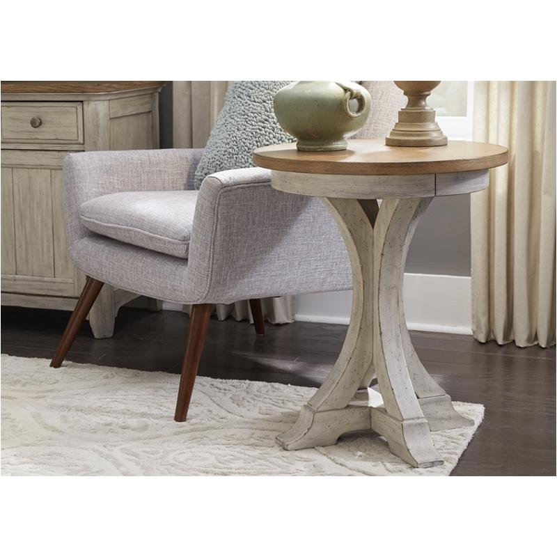 652 Ot1021 Liberty Furniture Round Chair Side Table