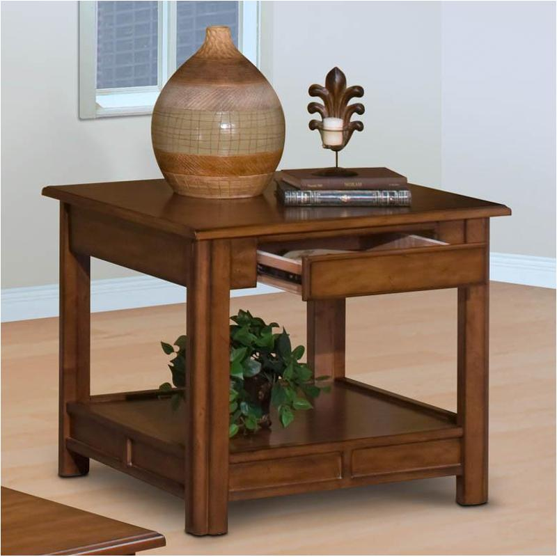 Bark New Classic Crestline End Table