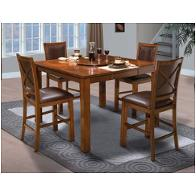 45 116 12 New Classic Furniture Aspen Counter Dining Table