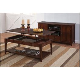 New Classic Terrace African Chestnut End Table