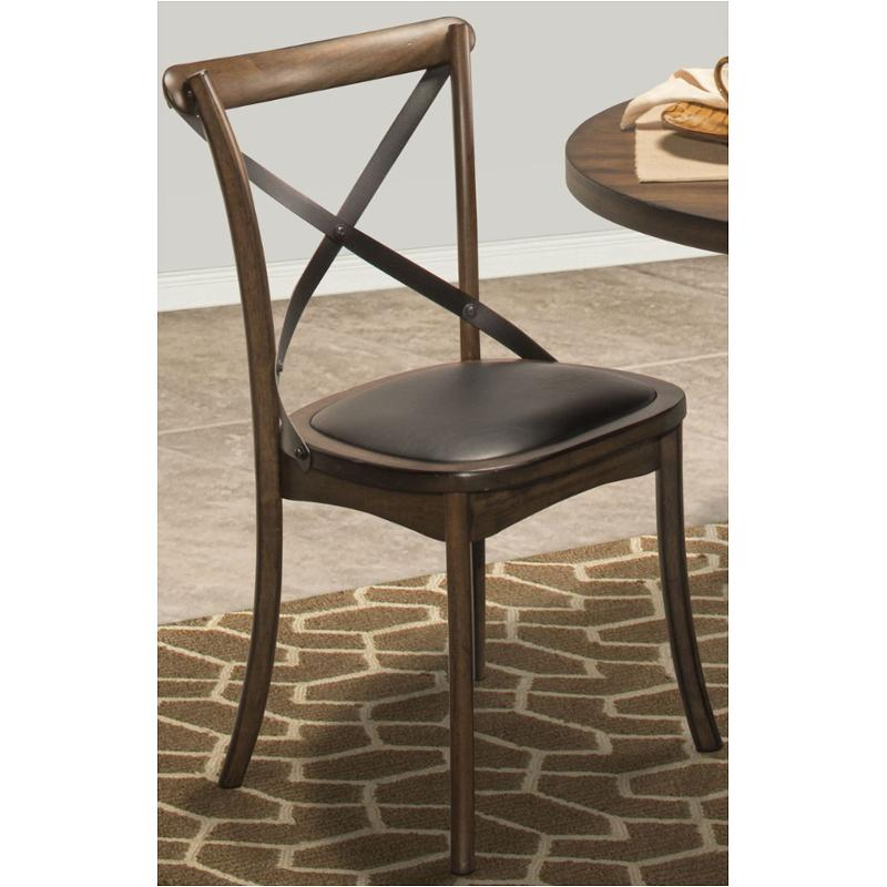 D816 62 New Classic Furniture Braxton X Back Dining Chair