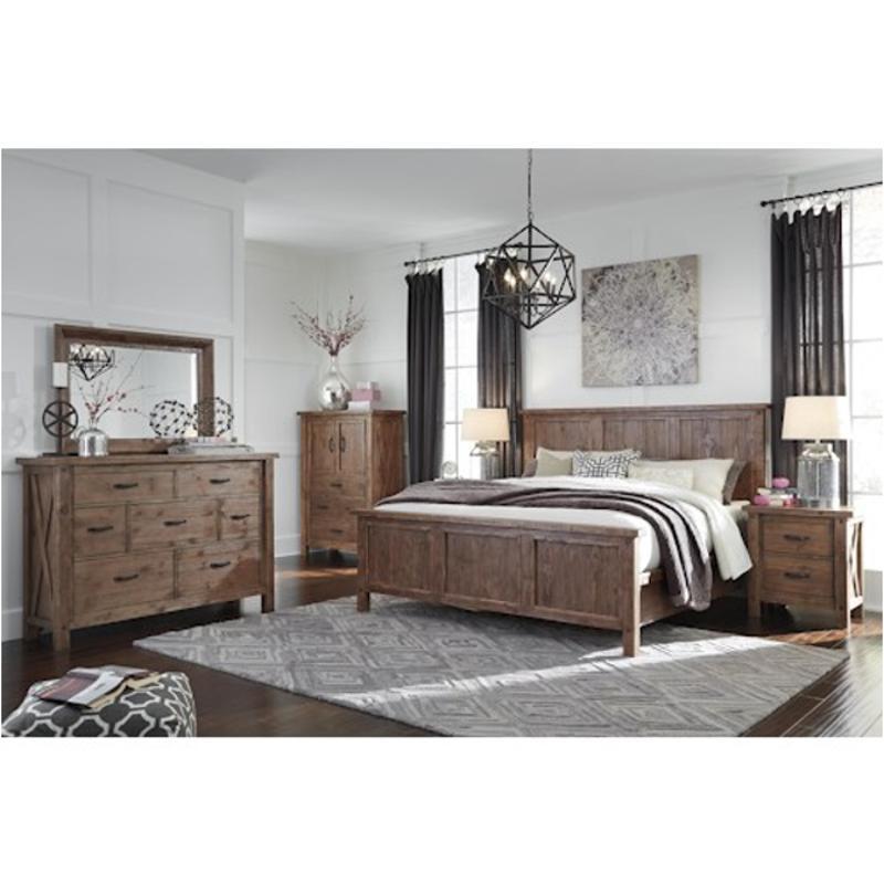 Tamilo Gray Brown Bedroom Set Ashley Furniture
