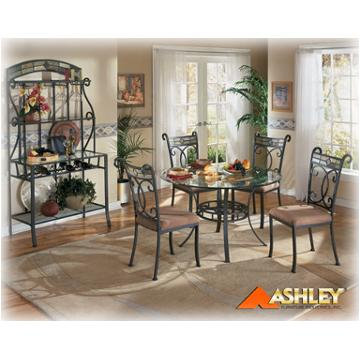 D253 15 Ashley Furniture Danbury Round, Ashley Furniture Danbury