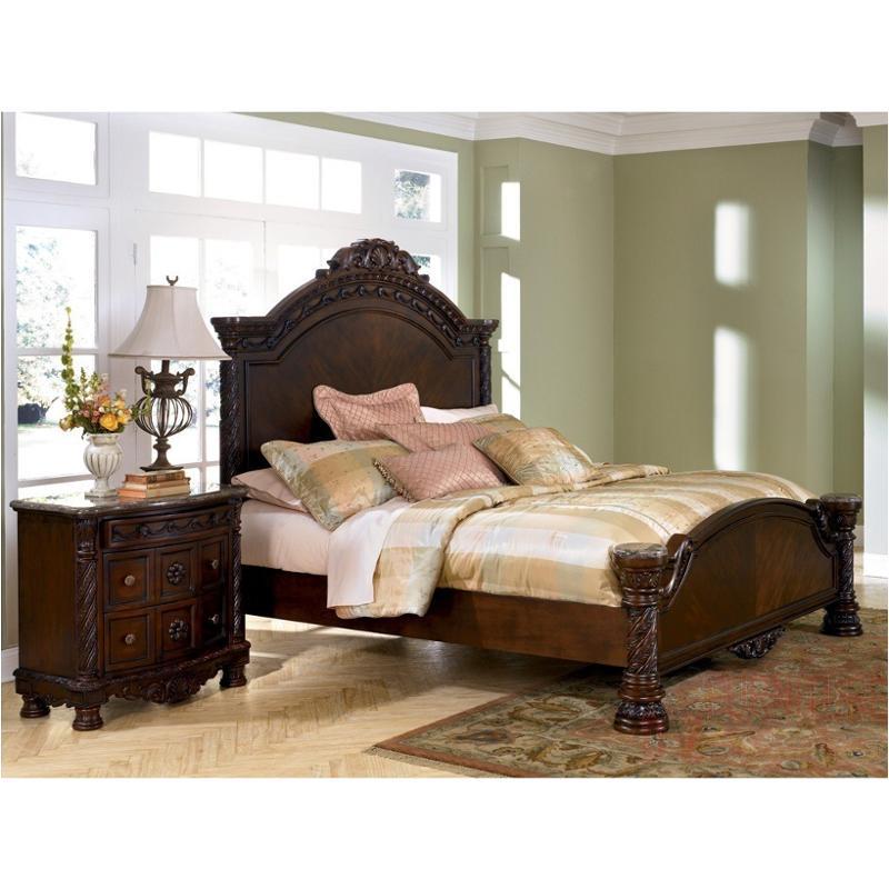B553 158 Ashley Furniture North S, King Bed Ashley Furniture