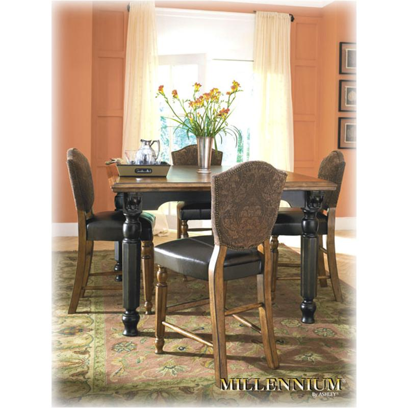 D534 32 Ashley Furniture Rowley Creek Square Counter Height Table