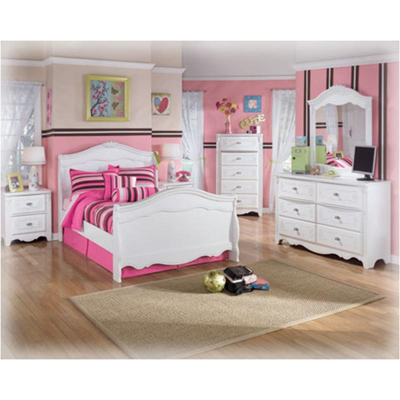 B188 26 Ashley Furniture Exquisite White Bedroom Bedroom Mirror