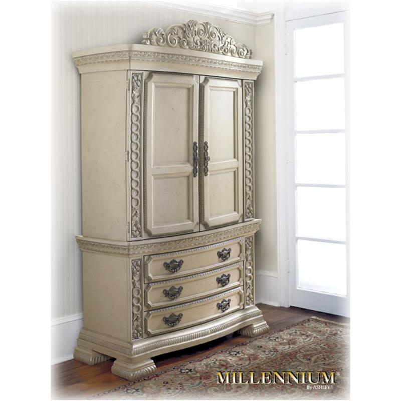 B608 49t Ashley Furniture Armoire Top, Ashley Furniture Armoire Top