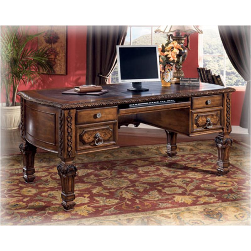 H543 27 Ashley Furniture Casa Mollino Home Office Leg Desk - Casa Mollino Sofa Table
