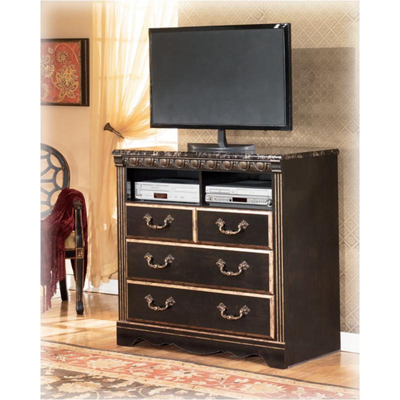 B175 39 Ashley Furniture Coal Creek Bedroom Media Chest