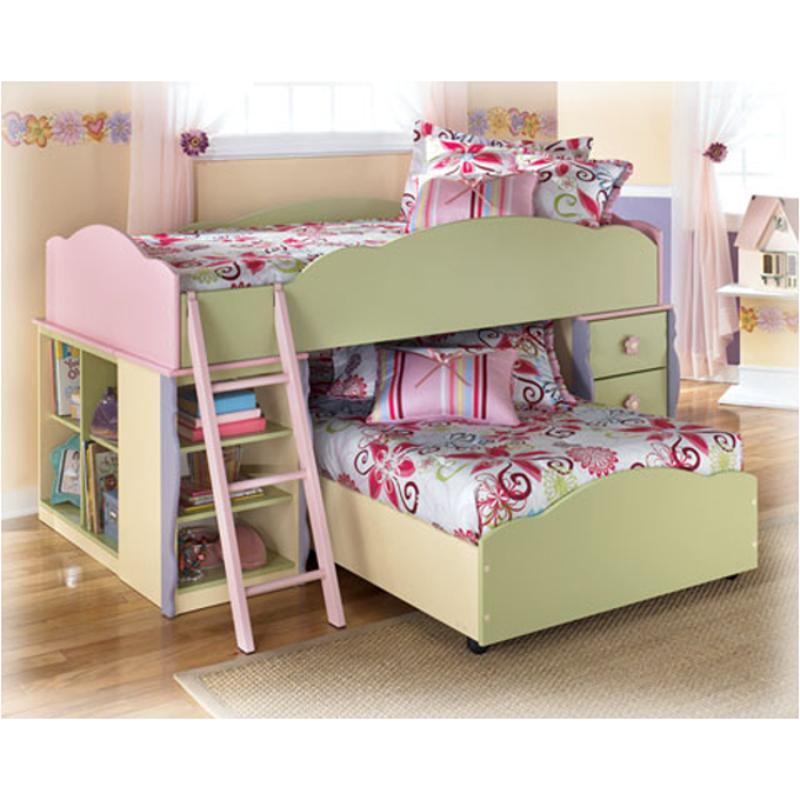 b14068t ashley furniture doll house kids room twin loft bed