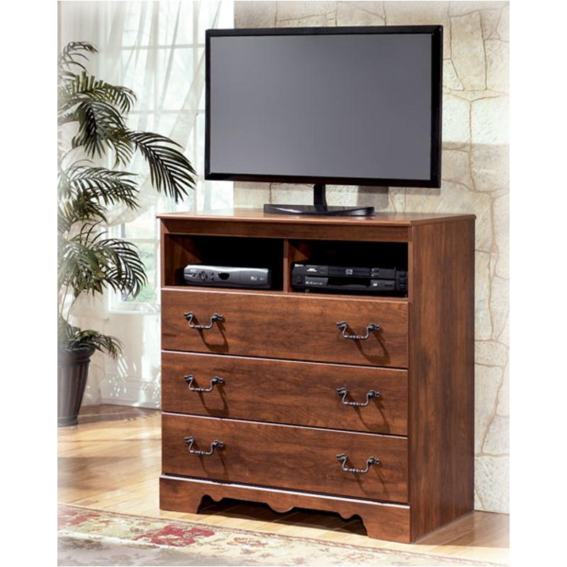 B258 39 Ashley Furniture Timberline Bedroom Media Chest