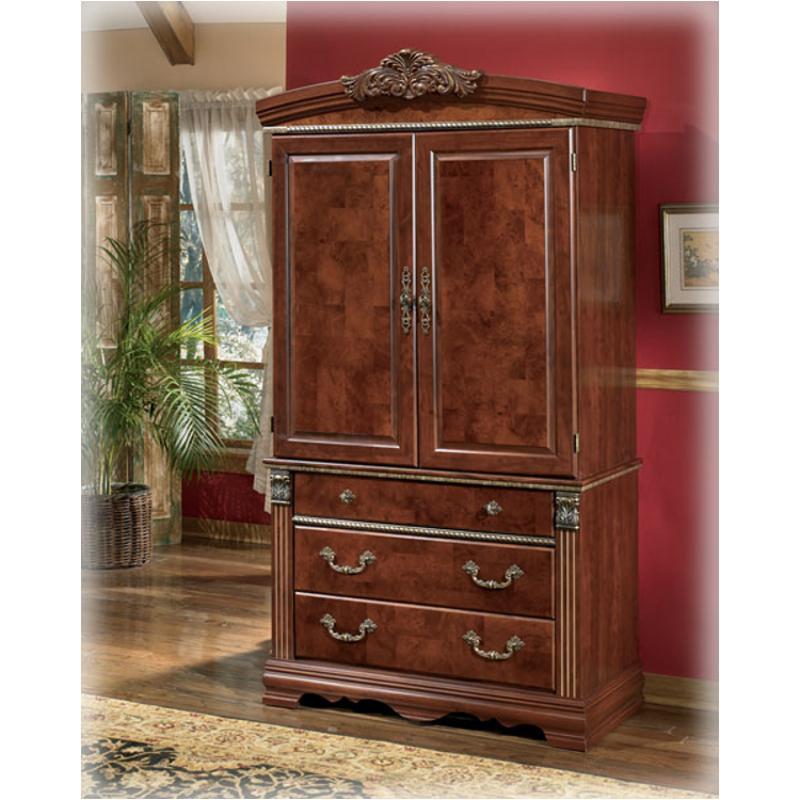 B406 49b Ashley Furniture Gilded Court, Ashley Furniture Wardrobe Closet