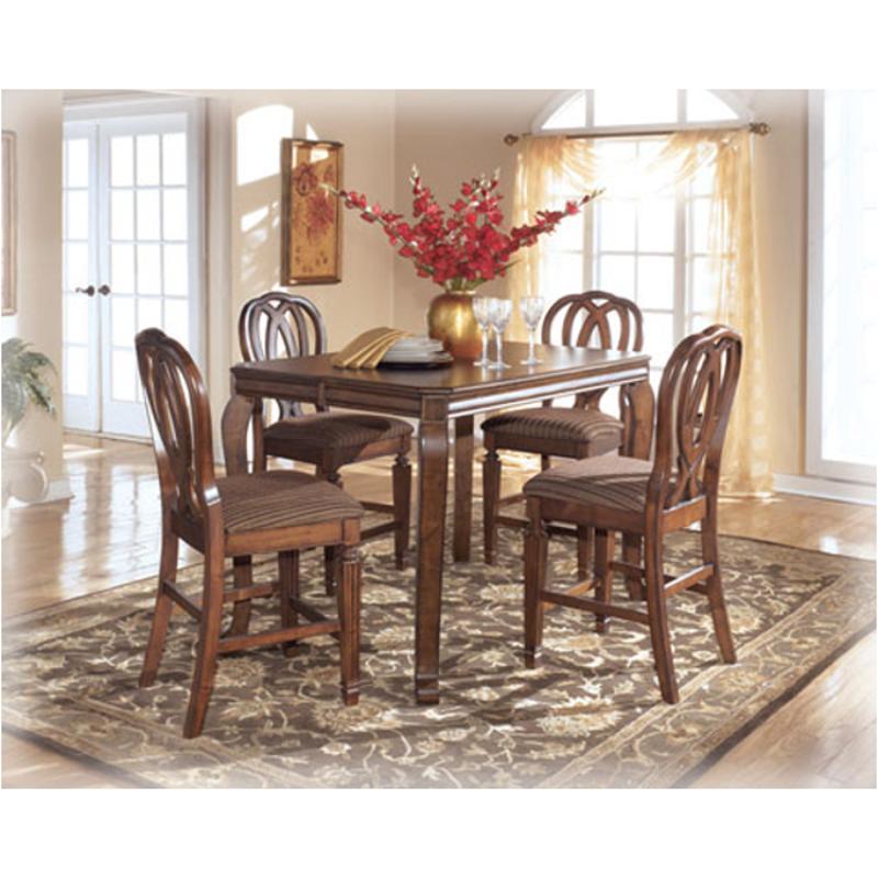 D527 32 Ashley Furniture Hamlyn Counter Height Leaf Table