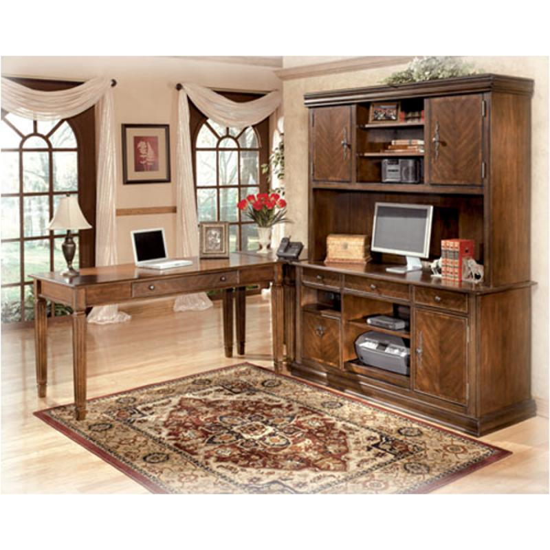 H527 49 Ashley Furniture Home Office, Hutch Office Desk