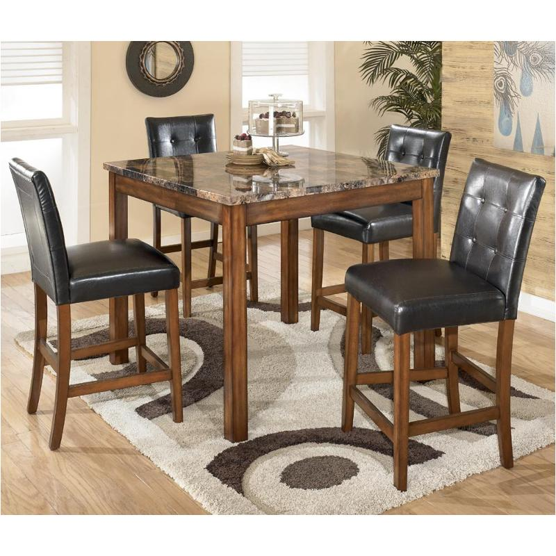 D158 233 Ashley Furniture Theo Brown, Ashley Furniture Dining Table And Chairs