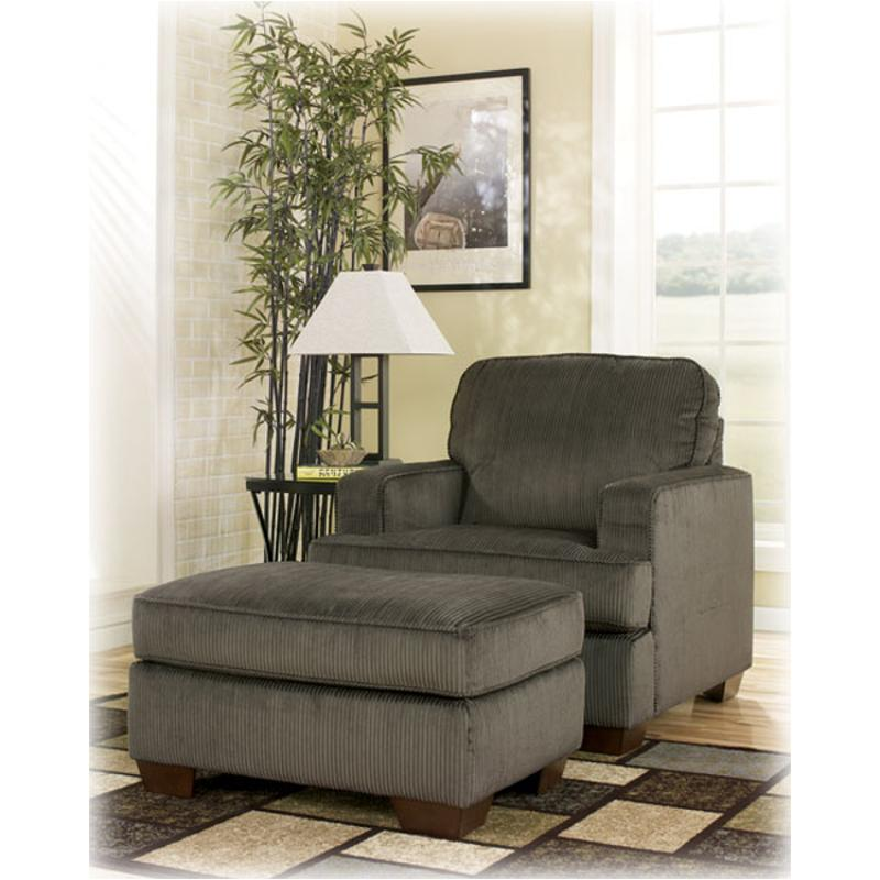 1280420 ashley furniture atmore  pewter living room chair