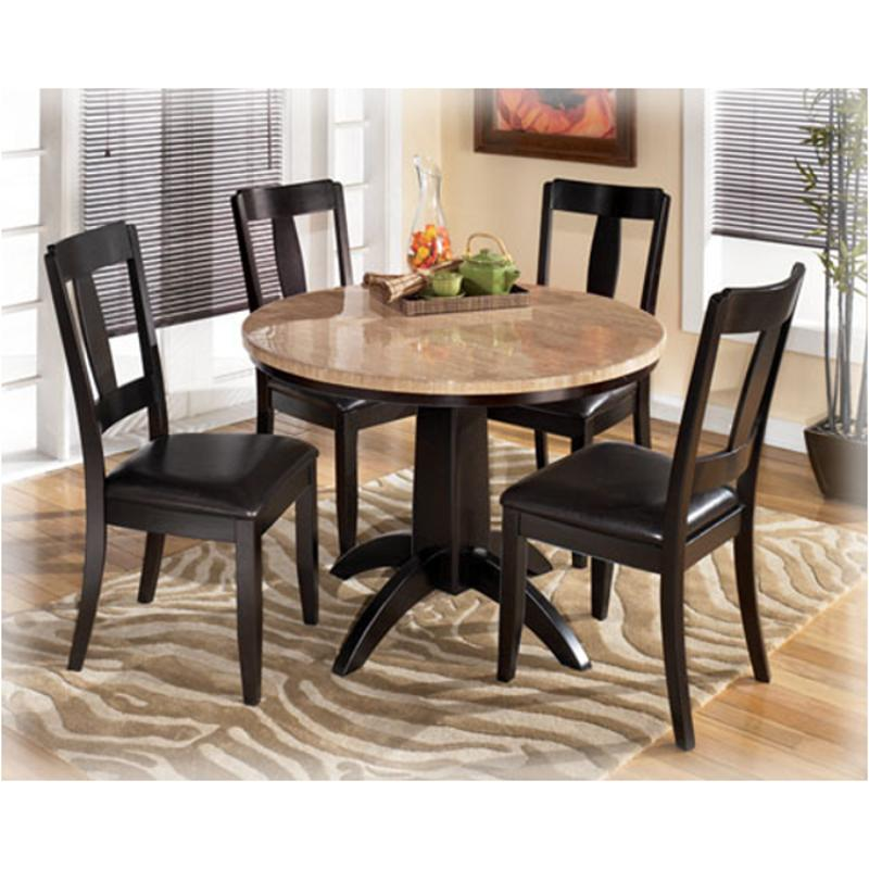 D451 225 Ashley Furniture Naomi Round, Ashley Furniture Round Dining Table