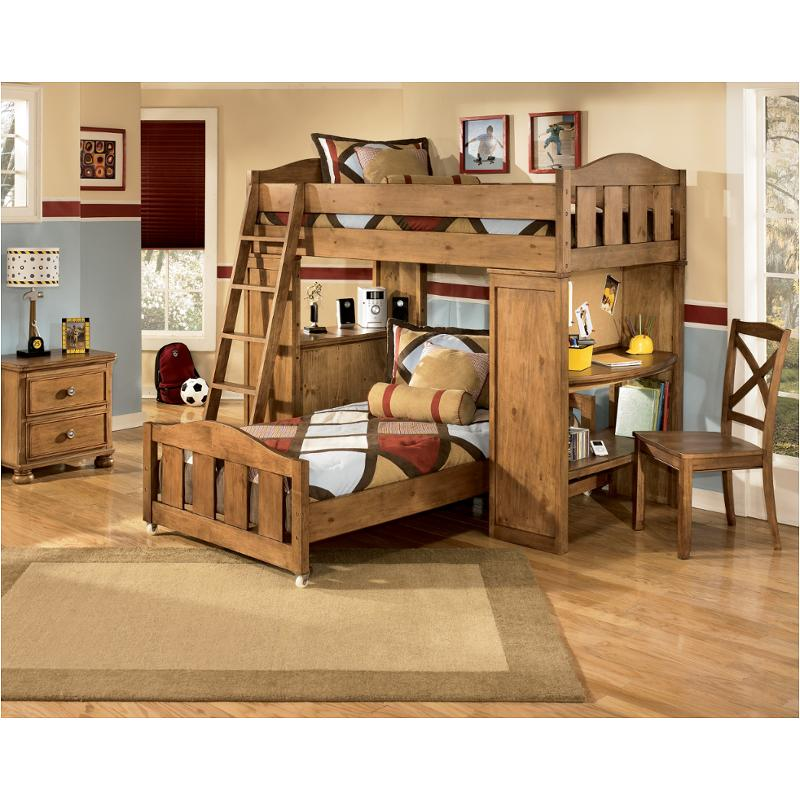 b39557p ashley furniture twin loft bed with desk and storage