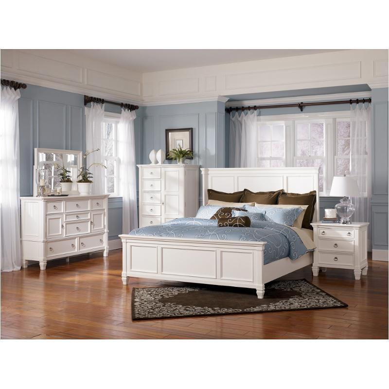 B672-31 Ashley Furniture Prentice - White Bedroom Dresser