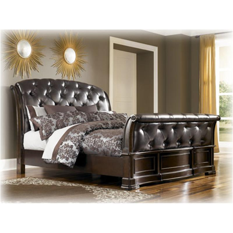 B613 77 Ashley Furniture Barclay Place Bedroom Queen Sleigh Bed