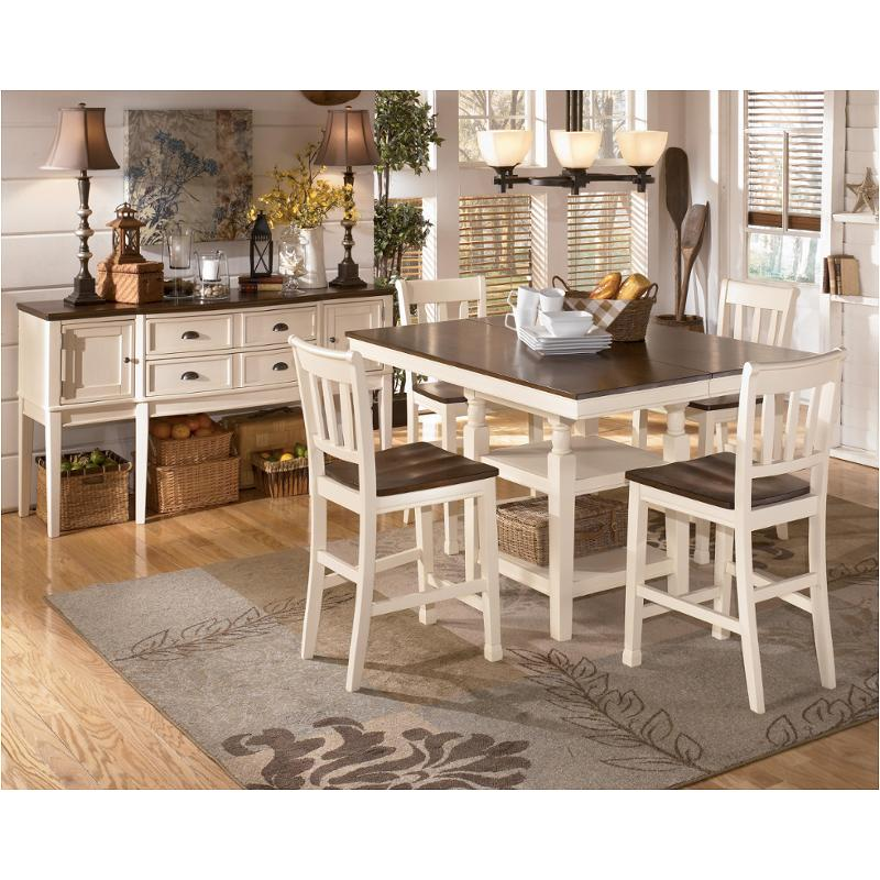 D583 32 Ashley Furniture Whitesburg Brown Cottage White