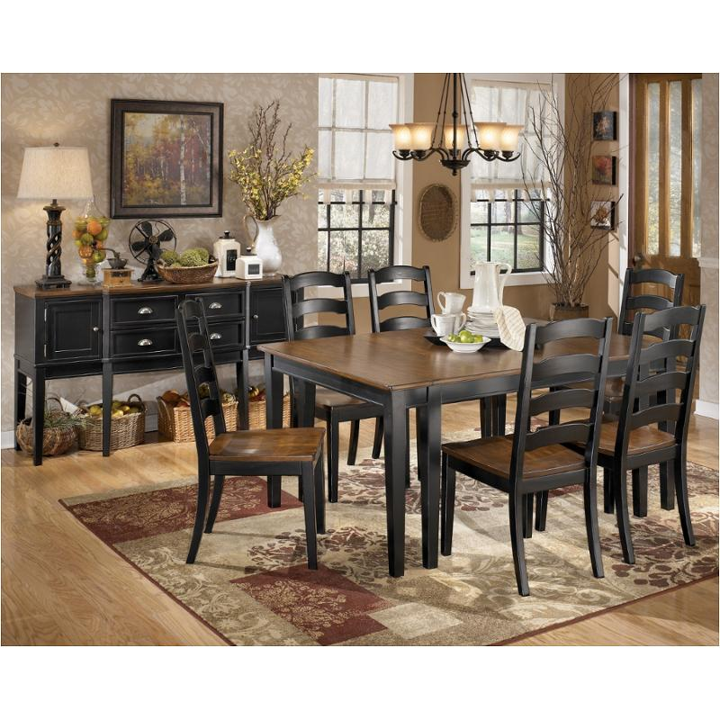 D580 45 Ashley Furniture Owingsville Dining Room Extension Table