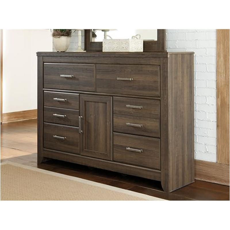 B251 31 Ashley Furniture Juararo Dark Brown Bedroom Dresser
