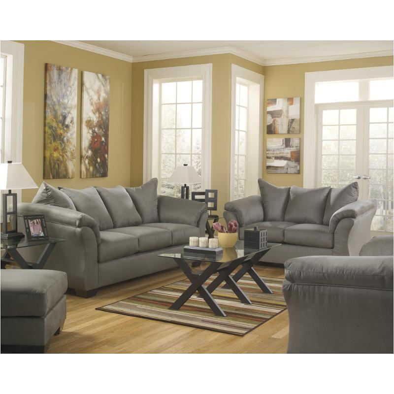 Darcy Cobblestone Living Room Sofa