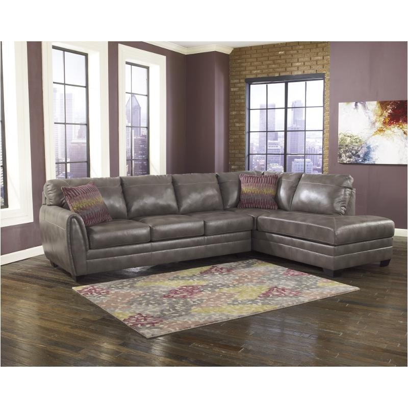 Sarai Durablend Gray Laf Sofa, Ashley Furniture Akron Ohio