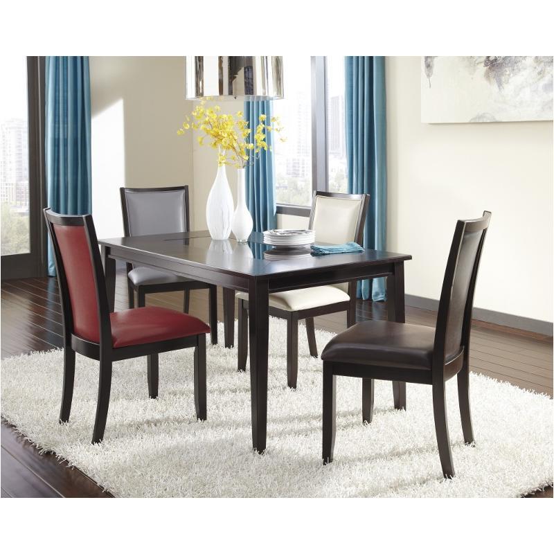 D550 25 Ashley Furniture Rectangular Dining Room Table