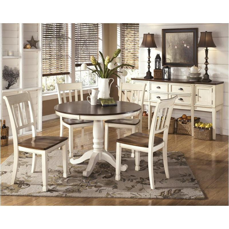 D583 15t Ashley Furniture Round Dining, Ashley Furniture Whitesburg