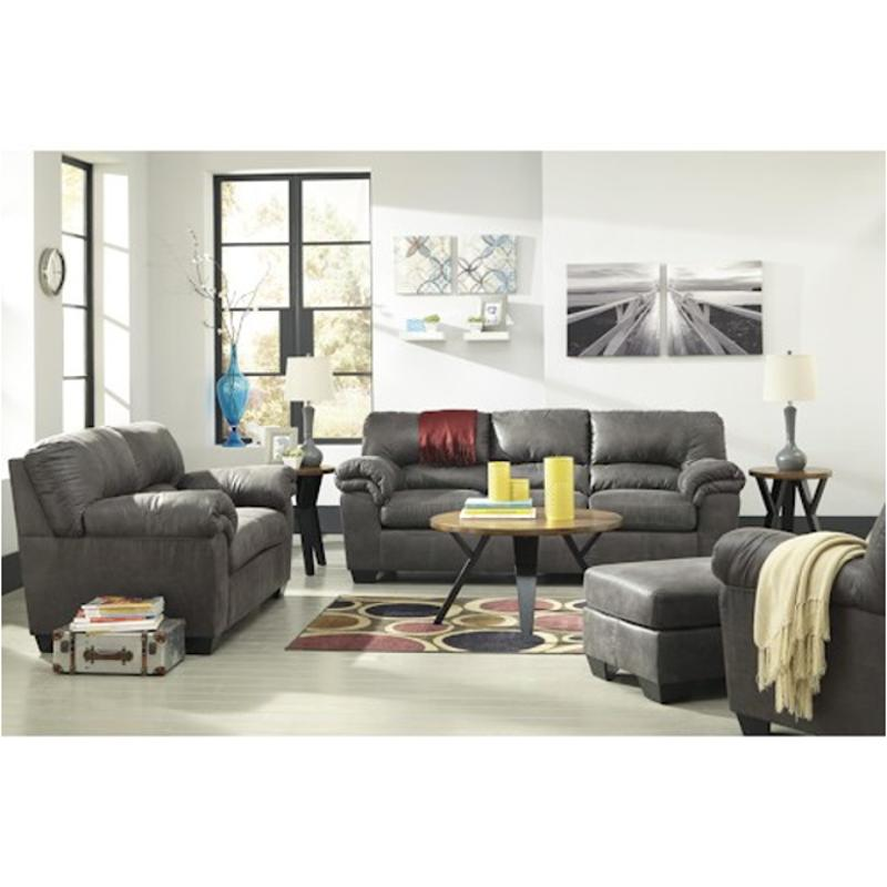 1200138 Ashley Furniture Bladen Slate, Gray Couch Set Ashley Furniture