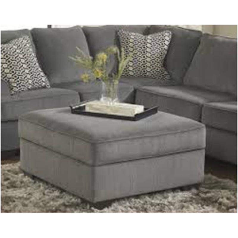 1270011 Ashley Furniture Loric Smoke Ottoman With Storage