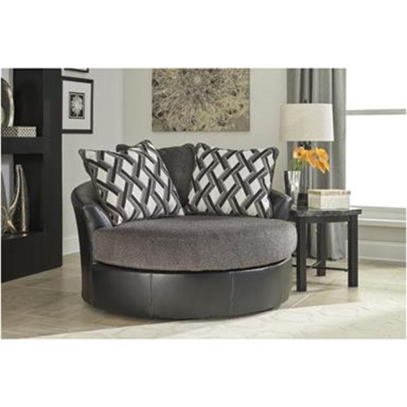 3220221 Ashley Furniture Oversized Swivel Accent Chair