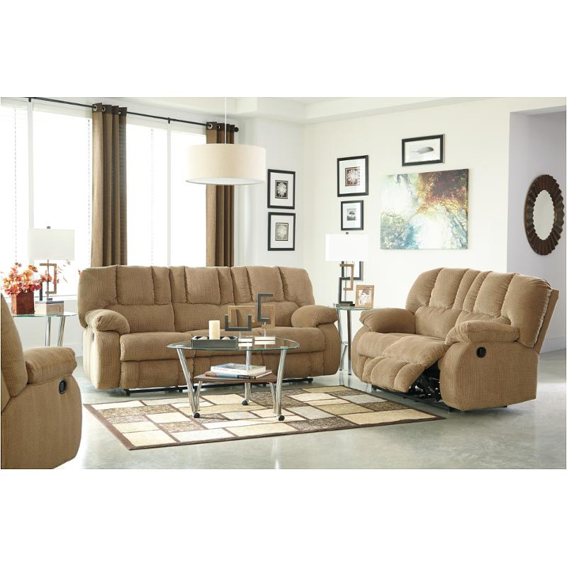 3860288 Ashley Furniture Roan Mocha Living Room Reclining Sofa