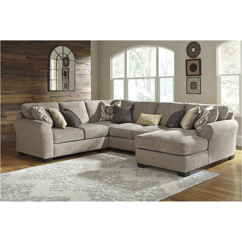 3910255 Ashley Furniture Pantomine Driftwood Laf Loveseat