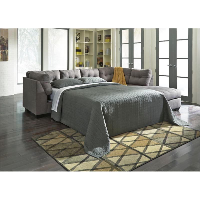 Charcoal Raf Full Sofa Sleeper, Ashley Furniture Sectional Sofa Bed